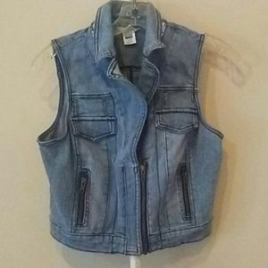 Candies Jean Vest size medium